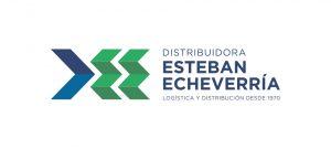 Logo Distribuidora Esteban Echeverría desarrollado por Belburó Studio
