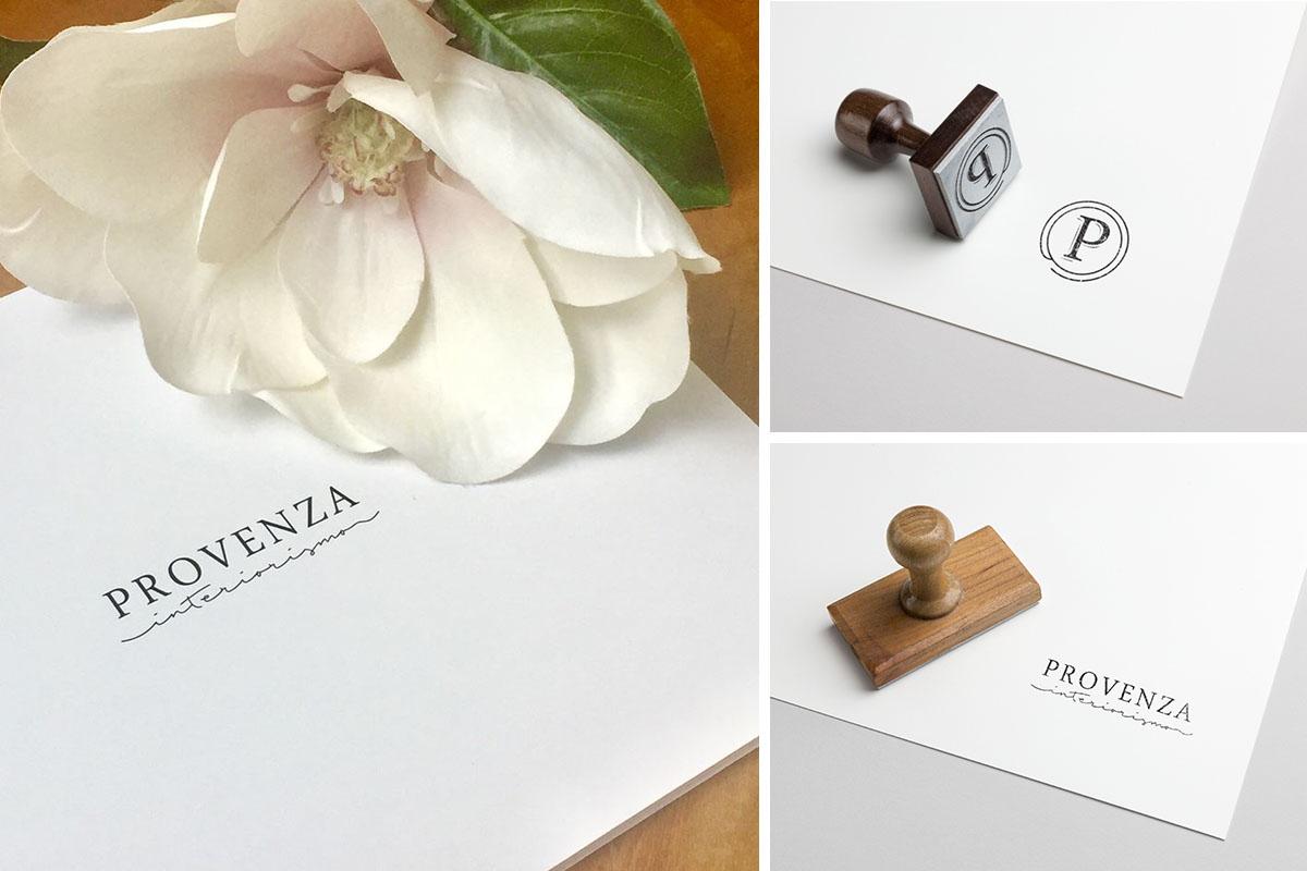Provenza Interiorismo - Branding by Belburó Estudio de Diseño.